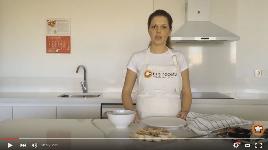 Cocinando cookery channel on Youtube