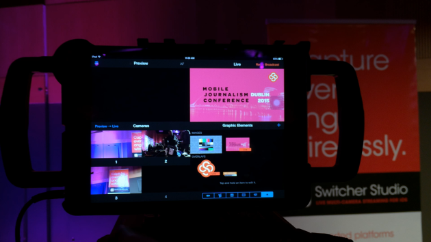 Switcher studio at MoJoCon