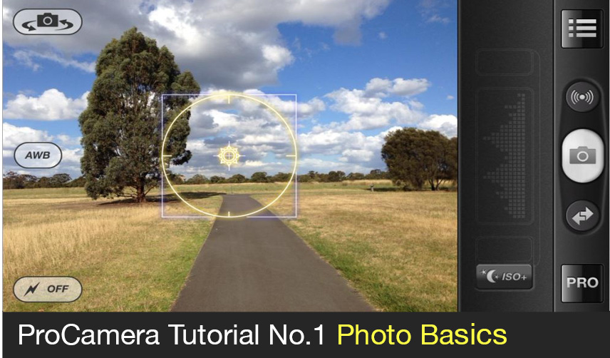 ProCamera app