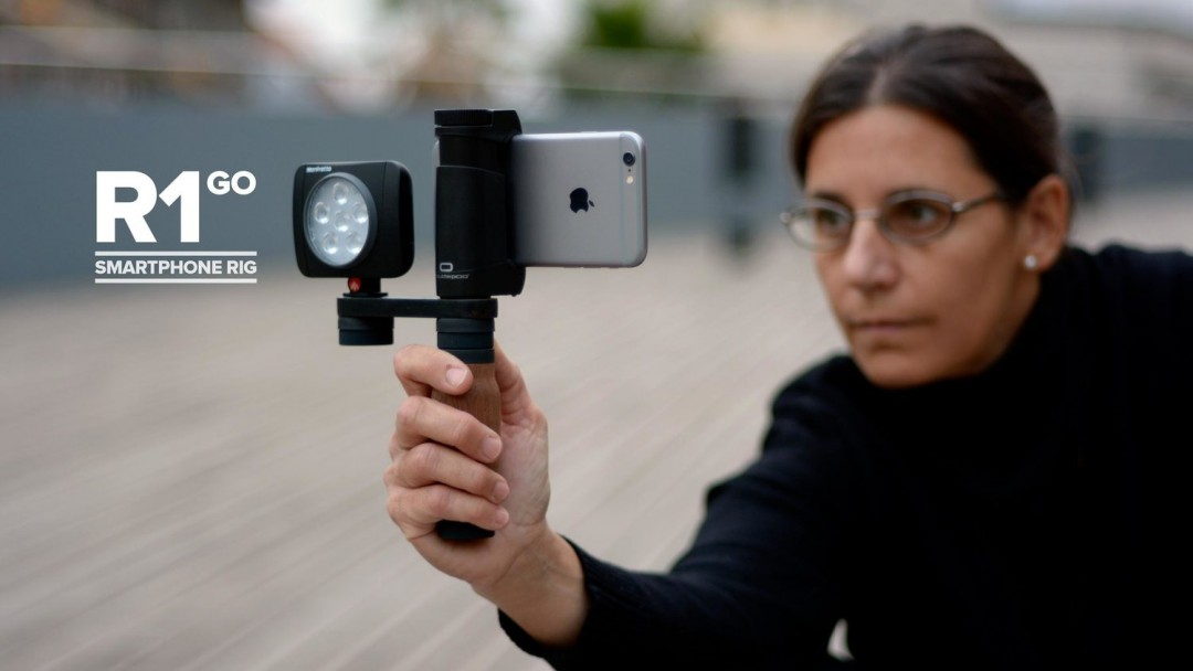 Shoulderpod makes smartphone holders and tripod attachments.